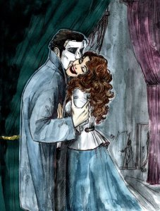 """Kiss after the Show"" by Eriksdesdemona.deviantart"