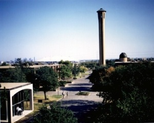 Campus (Braniff Memorial Tower and Mall), University of Dallas