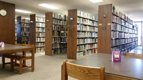 A favorite place in the library