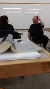 Father Maguire, my Literature professor for the Fall semester