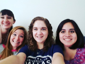 Some beautiful friends! So thankful for them, and so glad we got to experience the Rome semester together!