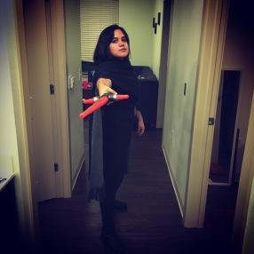 Halloween costume: Kylo Ren, of course