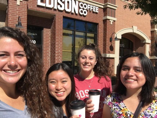 Edison Coffee Co. with old friends!